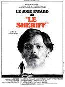 """Affiche Le Juge Fayard dit """"Le Sheriff"""""""