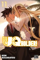 Couverture UQ Holder!, tome 11
