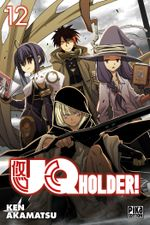 Couverture UQ Holder!, tome 12