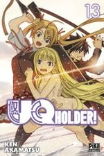Couverture UQ Holder!, tome 13