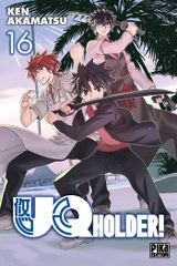 Couverture UQ Holder!, tome 16