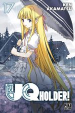 Couverture UQ Holder!, tome 17