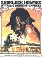 Affiche Sherlock Holmes attaque l'Orient-Express