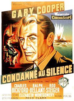 Affiche Condamné au silence