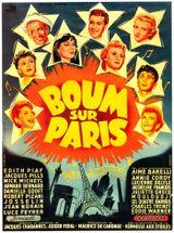 Affiche Boum sur Paris