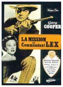 Affiche La Mission du commandant Lex