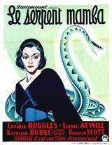 Affiche Le Serpent mamba