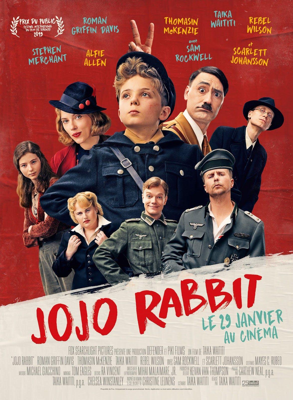Affiche de Jojo Rabbit.