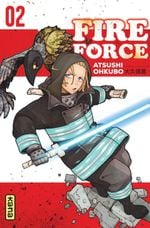 Couverture Fire Force, tome 2
