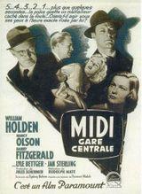 Affiche Midi, gare centrale
