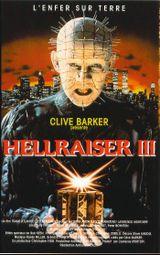 Affiche Hellraiser III