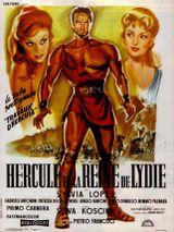 Affiche Hercule et la Reine de Lydie