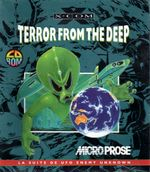 Jaquette X-COM : Terror From the Deep