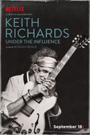 Affiche Keith Richards: Under the Influence