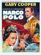 Affiche Les Aventures de Marco Polo
