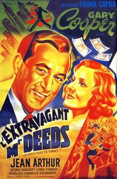 Affiche L'Extravagant Mr Deeds
