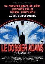 Affiche Le Dossier Adams