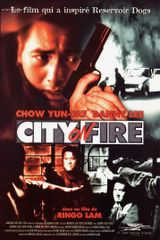 Affiche City on Fire