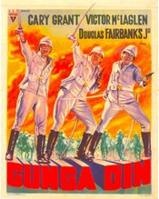 Affiche Gunga Din