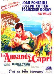 Affiche Les Amants de Capri