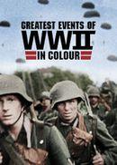 Affiche Les grandes dates de la Seconde Guerre mondiale en couleur