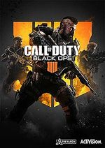 Jaquette Call of Duty : Black Ops 4