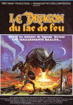 Affiche Le Dragon du lac de feu