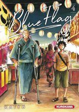 Couverture Blue Flag, tome 4