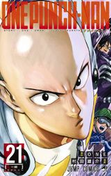 Couverture One-Punch Man, tome 21