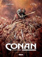 Couverture La Citadelle écarlate - Conan le Cimmérien, tome 5