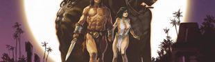 Couverture Chimères de fer dans la clarté lunaire - Conan le Cimmérien, tome 6