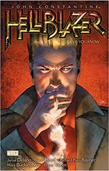 Couverture John Constantine, Hellblazer, Vol.2 : The devil you know
