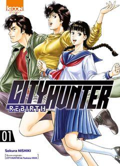 Couverture City Hunter Rebirth, tome 1