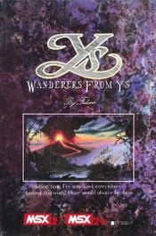 Jaquette Ys III: Wanderers from Ys