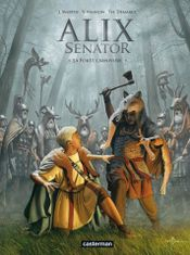 Couverture La Forêt carnivore - Alix Senator, tome 10