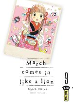 Couverture March Comes in Like a Lion, tome 9