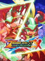 Jaquette Mega Man Zero/ZX Legacy Collection