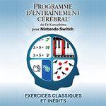 Jaquette Programme d'entraînement cérébral du Dr Kawashima pour Nintendo Switch