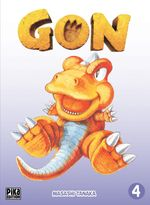 Couverture Gon, tome 4