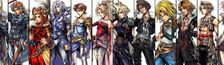 Cover Final Fantasy : Vos personnages favoris par épisode