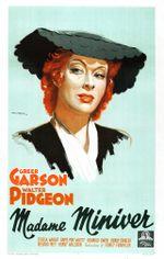 Affiche Madame Miniver