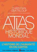 Couverture Atlas historique mondial