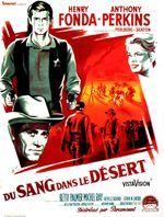 Affiche Du sang dans le désert