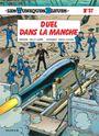 Couverture Duel dans la Manche - Les Tuniques bleues, tome 37