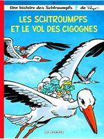 Couverture Les Schtroumpfs et le vol des cigognes - Les Schtroumpfs, tome 38