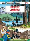 Couverture Vertes années - Les Tuniques bleues, tome 34
