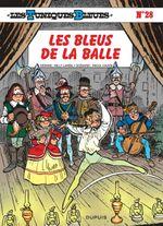 Couverture Les Bleus de la balle - Les Tuniques bleues, tome 28