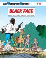 Couverture Black Face - Les Tuniques bleues, tome 20