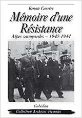 Couverture Mémoire d'une résistance