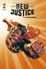 Couverture La Sixième Dimension - Justice League : New Justice, tome 4